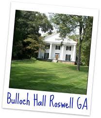 Bulloch Hall Roswell Georgia 30075